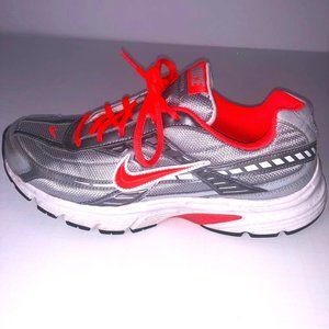 Nike Initiator Grey/Orange Running Shoes Size 9.5